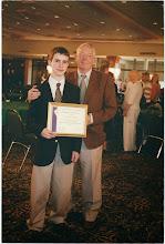 Photo: Reg Green with Nicholas Green Winner