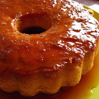Tangerine Flan.