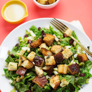Autumn Bliss Salad with Stuffing Croutons September 21, 2016