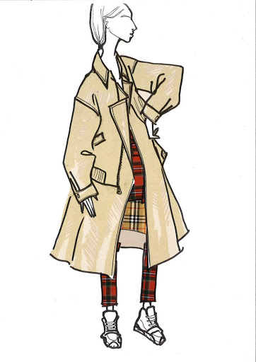 Burberry's sketch