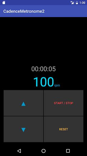 玩免費運動APP|下載Cadence Metronome 2 app不用錢|硬是要APP