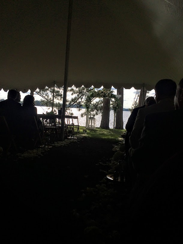 Awesome wedding venue on the lake!