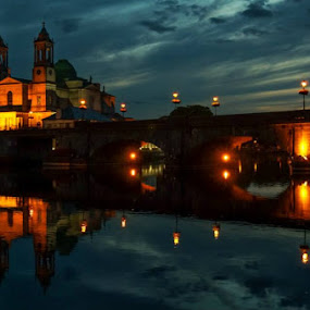 Athlone, Ireland by Elena Lashneva - City,  Street & Park  Historic Districts