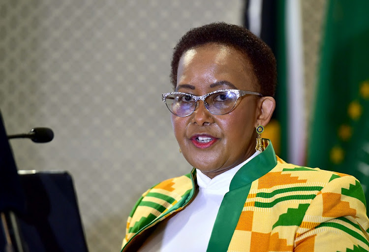 Minister of sport and recreation Tokozile Xasa. Picture: KOPANO TLAPE/GCIS