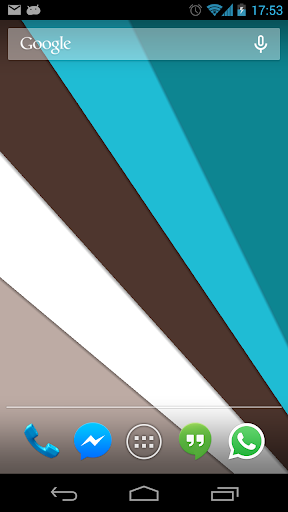 Material Design Live Wallpaper screenshots 1