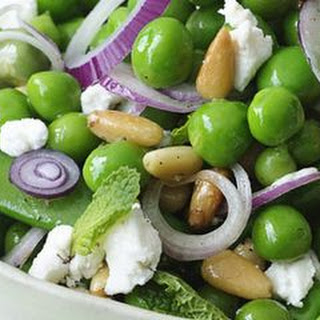 Double Pea and Feta Salad