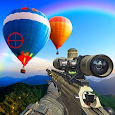 sniper balloon blast shooting game