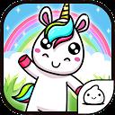 MergeUnicorn- Cute Idle & Clicker Game APK