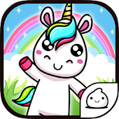 Merge Unicorn - Cute Idle & Clicker Game