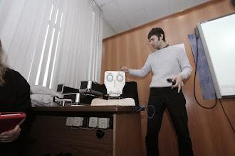 Photo: Лекция старшеклассникам на физтехе УрФУ, 01.2014