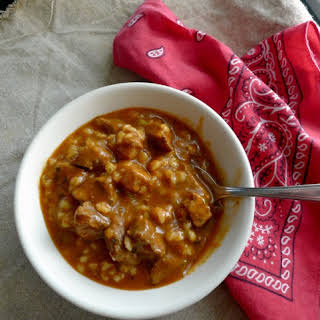 Old-Fashioned Hearty Beef Barley Soup.