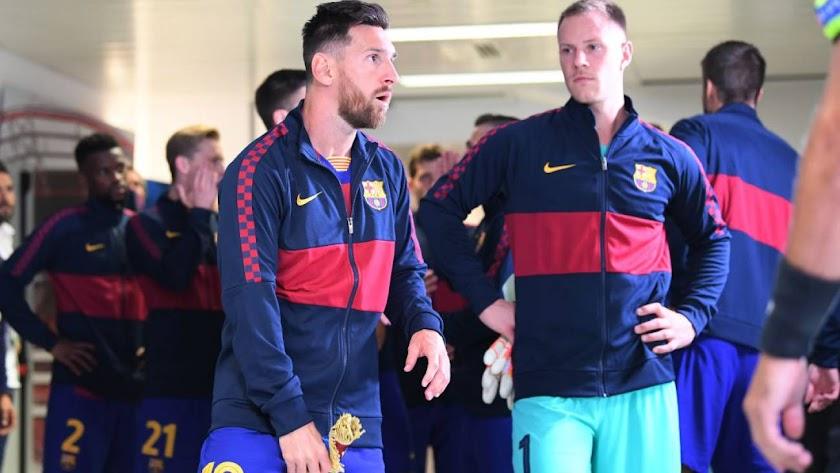 Leo Messi da un paso más hacia su marcha del Barça.
