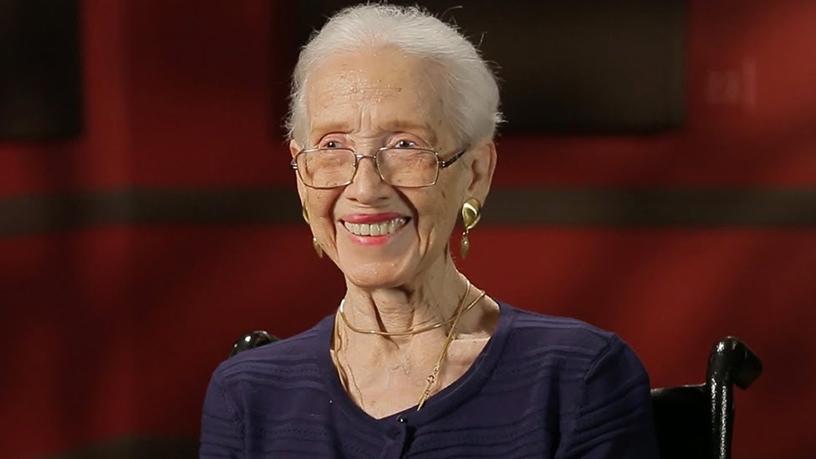 Katherine Johnson, former physicist? and ?mathematician at NASA.