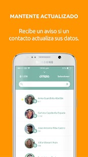 DiHola - Comparte tus datos sociales - náhled