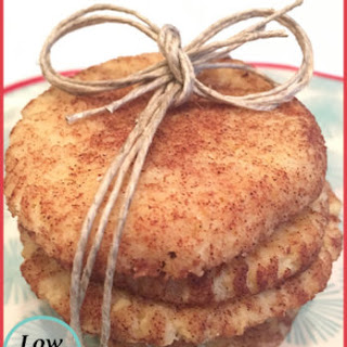 Low Carb Snickerdoodles Cookie.