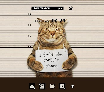 Wallpaper Cat Mug Shot Theme - náhled