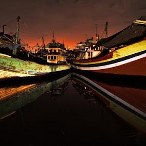 by Joel Mochammad - Transportation Boats