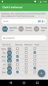 WeekOut - Event planner screenshot 3
