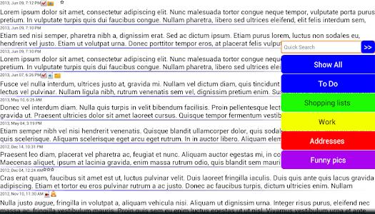 Journal Notes Multimedia screenshot 10