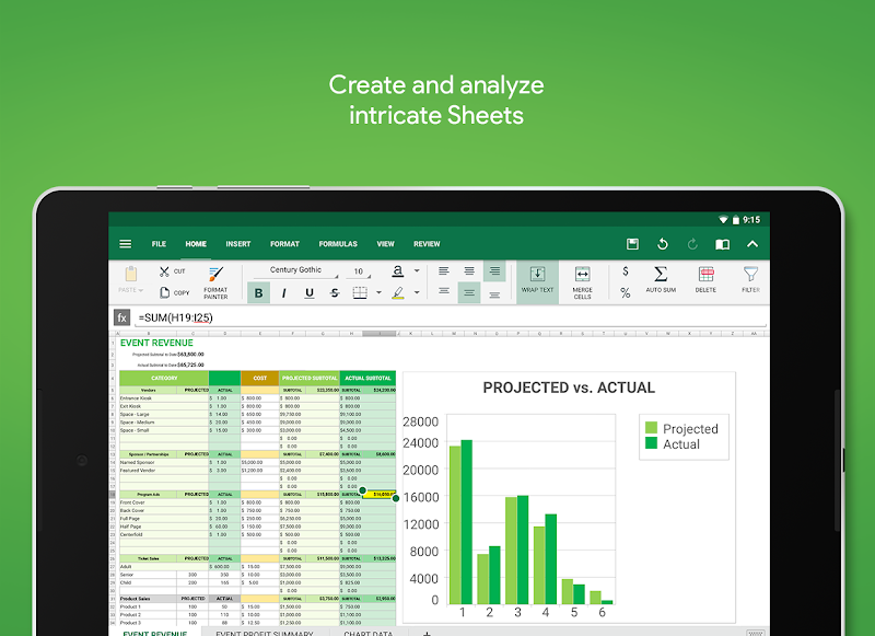 OfficeSuite - Office, PDF, Word Sheets Slides Note Screenshot 9