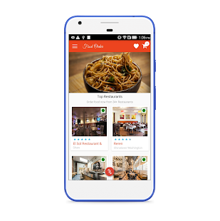 LS Food Ordering Customer App - náhled