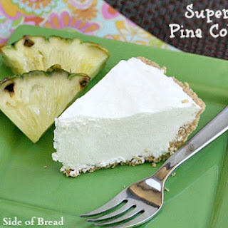 SUPER EASY PINA COLADA PIE.