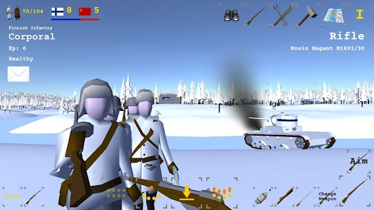 Winter War Mod Apk Download For Android and Iphone 1