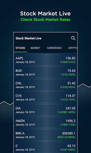 cryptocurrency stock market live