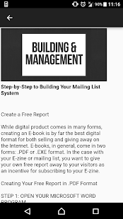 Mailing List Guide - náhled