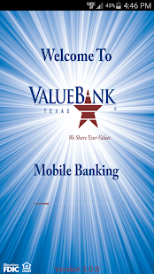 ValueBank TX – Mobile Banking- screenshot thumbnail