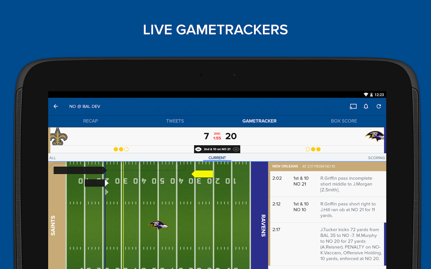 how to watch live games on cbs sports app