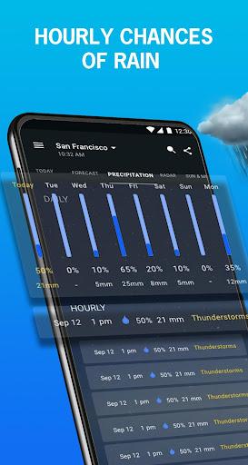 1Weather : Forecasts, Widgets, Snow Alerts & Radar screenshot 1