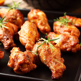 Slow Cooker Hot Chicken Wings