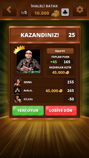 Spades -Batak HD Online 1.021 screenshots 2