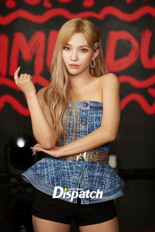 soyeon blonde 2