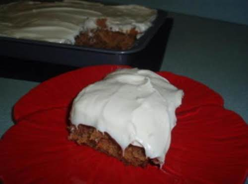 "Carrot Zucchini Cake ""OMG! This is the best cake and frosting I..."