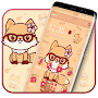Kawaii Fox Anime Theme APK icon