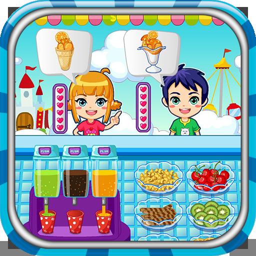 Ice cream maker game Icon