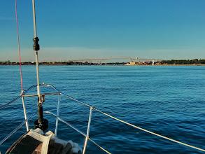 Photo: Approaching Port Huron at dawn after an overnight sail down Lake Huron