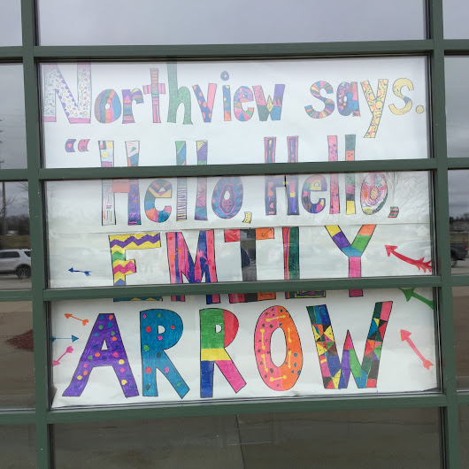 "Northview Says ""Hello, Hello!"" to Emily Arrow by Carrie Davies"