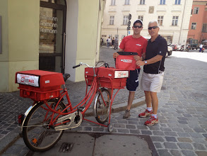 Photo: I think I could deliver mail in Germany!