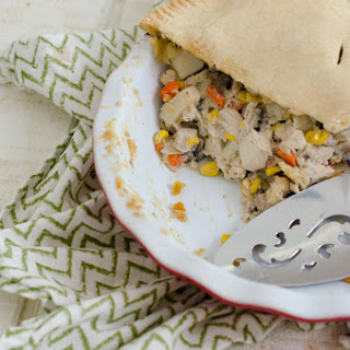 Chicken Pot Pie with Mushroom Gravy