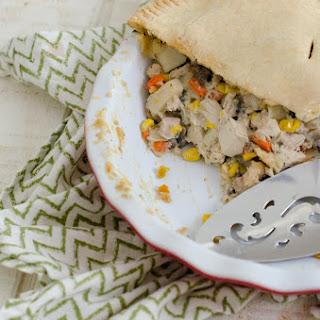 Chicken Pot Pie with Mushroom Gravy.