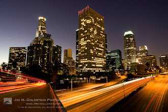 Photo: Los Angeles Skyline - Most beautiful at night in my opinion