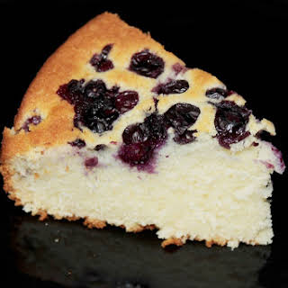 Simple Blueberry Cake.