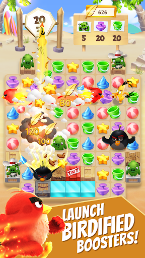 Angry Birds Match - Free Puzzle Game 3.1.0 screenshots 2