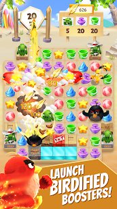 Angry Birds Match MOD Apk 4.0.0 (Unlimited Money) 2