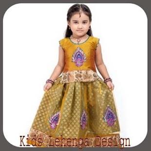 Děti Lehenga Design - náhled