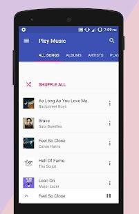 Play Music - náhled