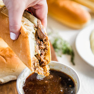 French Dip Sandwich - Crock Pot French Dip.